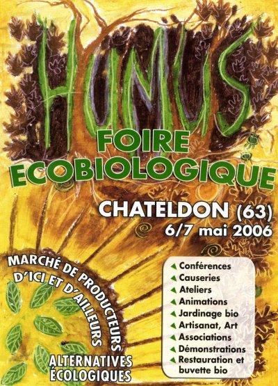 Affiche humus 2006